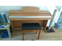 Yamaha Digital Piano with Stool