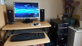 HP Desktop PC Dual core with monitor No offers please