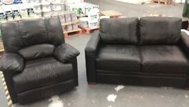 2 seater sofa and recliner