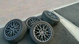 Subaru Enkei STi wheels 5x114.3