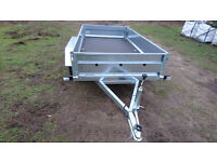 CAR TRAILER 750 8.6 ft 4.4 ft tandem wheels BRAND NEW CHEAP 2017