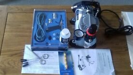 Airbrush and Compressor