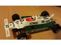 Scalectrix 1970s Saudi Leyland Williams racing car