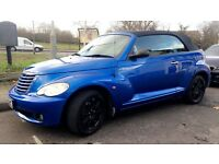 chrysler PT cruiser convertible, low mileage