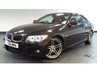 2011 61 BMW 3 SERIES 2.0 320D M SPORT 2D AUTO DIESEL *PART EX WELCOME*FINANCE AVAILABLE*WARRANTY*