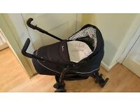 Silver Cross pram stroller buggy 3 in 1 travel system with car seat