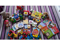 Baby/toddler toy and book bundle x34 items