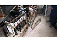2x garden gate