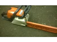 Stihl MS211/c petrol chainsaw stihl saw 2012
