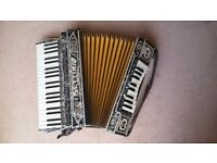 Soprani-Luttberg Duo Organ, Double Keyboard accordion. One of the rarest accordions ever made!!