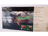 Snooker / Pool Table for Sale 4ft 6'