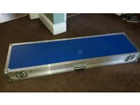 Hard Case for Korg Krome 73 keyboard with wheels
