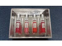 Gloss In Love Lancome Paris 4 Lip Glosses, Brand new, Box included, Contact me asap, Cheap price £20