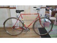 Vintage bsa 3 speed town bike