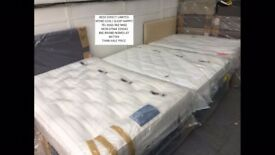 Silentnight brand new Drawer-Divan Double Beds with quality Mattresses from £125.00. FREE Del.