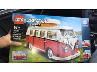 Limited Edition Lego VW Camper van(unopened)