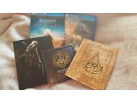 Assassin's creed origins deluxe edition Like new Bargain!!