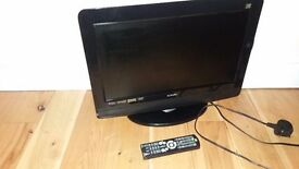 "Logik 16"" HD ready Freeview TV combi with DVD player"