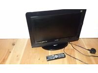 """Logik 16"""" HD ready Freeview TV combi with DVD player"""