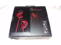 **BRAND NEW** Two pairs of GEVO Noise Isolating In Ear Headphones
