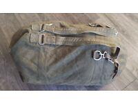 Genuine Vintage Germany Military Sea Sack Large Capacity Canvas Kit Bag