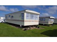 6 berth caravan to rent chapel st Leonards