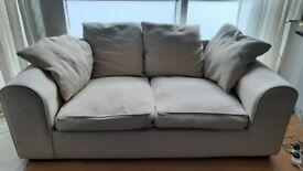 2/3 seat comfy sofa: good condition, needs new home