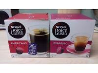 Nescafe Americano and Espresso Pods