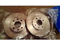 Renault Clio discs and pads