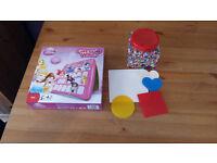 Disney Princess Guess Who - Ikea Pyssla Beads and Shapes. £5