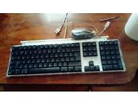 Apple pro keyboard M-7803 and mouse