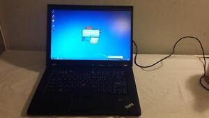 Used Lenovo T500 Core 2 Duo 2.4Ghz Laptop with HDMI and Wireless for Sale(Delivery available with the TRI-CITY area)