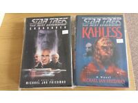 Star Trek Hardback Novels Ex/Nm