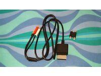 Original microsoft xbox 360 av cable