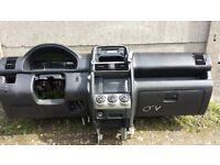Left hand drive dashboard Honda CR-V 2006 model