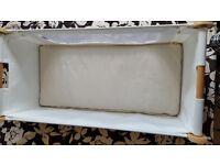 Snuz Pod + mattress + protector + 4 sheets