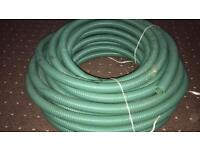 MERLETT 1 1/4 GREEN SUCTION & DELIVERY HOSE approx 50m LENGTH