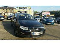 2006 55 VW PASSAT 2.0 TDI 140 4 DOOR SALOON 6 SPEED MANUAL