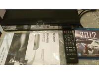Blu-Ray DVD player hdmi sharp