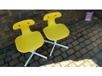 Small ikea chairs x2