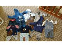 Baby boys clothes 0+ months