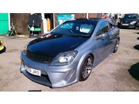 ONE OFF CAR 2009 (59) VAUXHALL ASTRA 1.8 SRI 140, 3 DOOR HATCH MET SILVER NEW MOT 63K F/S/H BODY KIT