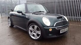 2005 MINI COOPER S, CONVERTIBLE, XENNON, FULL LEATHER