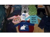 job lot 22 items baby boys sets tops pants dungarees smoke pet free home