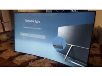 "SAMSUNG UE49KS7500 Smart 4k Ultra HD HDR 49"" Curved LED TV ...RRP £999"