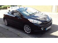 PEUFEOT 1.6 GT CONVERTIBLE CC 2008 TOP RANGE EXCELLENT COND 75000 WITH FULL SERV HISTORY
