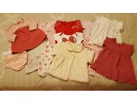 Baby Girl Clothes Bundle (0-3 months)