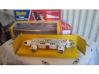 Original 70s dinky diecast model of the Eagle fully restored