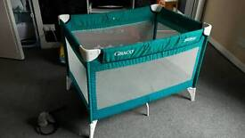 Graco travel cot playpen