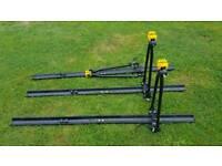 3x Car roof bike racks